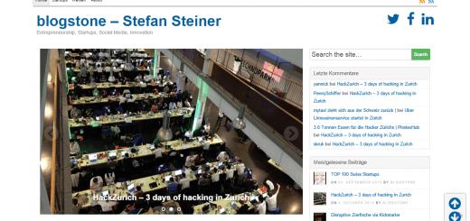 blogstone.ch - Stefan Steiner