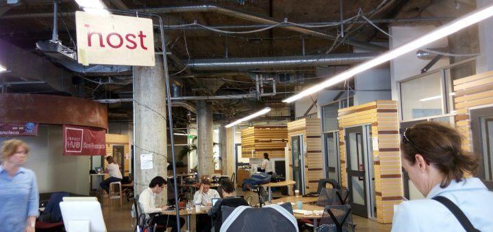 Coworking im Hub San Francisco / Silicon Valley